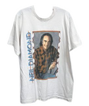 Vintage Neil Diamond White Tshirt Men's XL