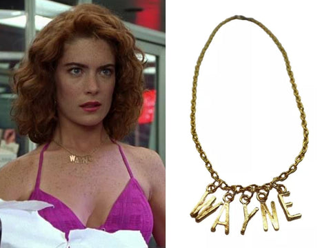 Wayne's World Stacy Movie Replica Necklace Wayne Necklace 'Psycho Host Beast'