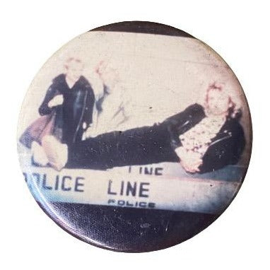 Vintage 'The Police' Pin