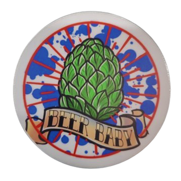 The Blue Ribbon Lounge Beer Baby Sticker