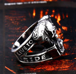 Love to Ride Motorcycle Ring
