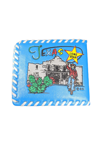 Vintage Texas Lone Star Kid's Wallet