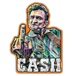 Point Blank Art Johnny Cash Thank You Nashville Vinyl Sticker