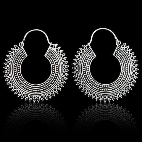 Coco Loco Sheba Hoop Earrings