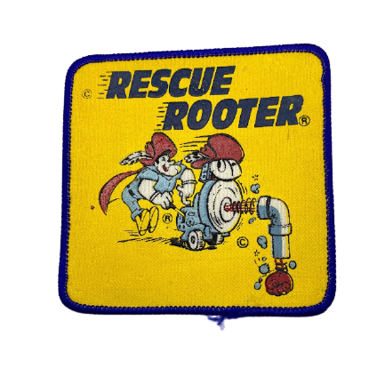 Vintage Patch - Rescue Rooter
