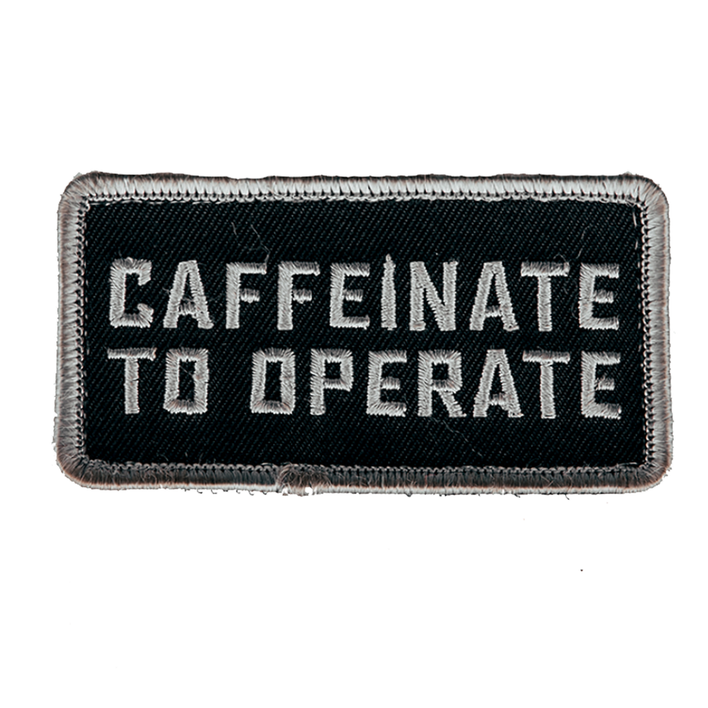 Caffeinate to Operate patch