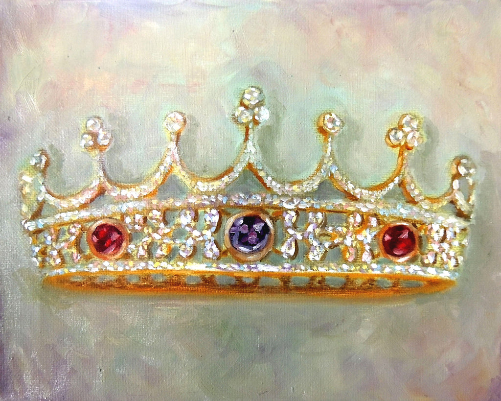 A Mother's Crown custom paintings for Mom