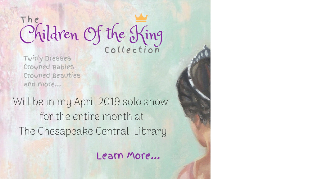 Solo Art Show at The Chesapeake Central Library