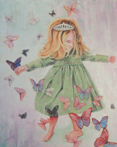 Twirly Dress and Butterflies