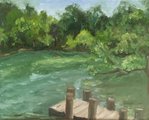 Plein-Air at Oak Grove Lake Park