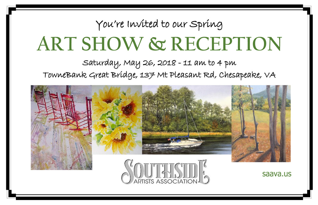 Southside Artist Association Spring Art Show