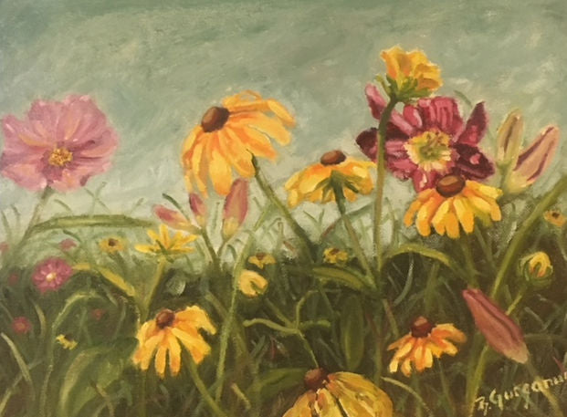Plein-air with Wild Flowers