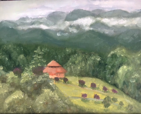 plein air painting smokie mountains beverly gurganus