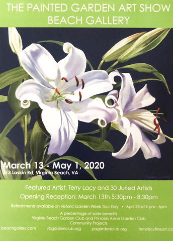 The Painted Garden Art Show | Beach Gallery | Virginia Beach