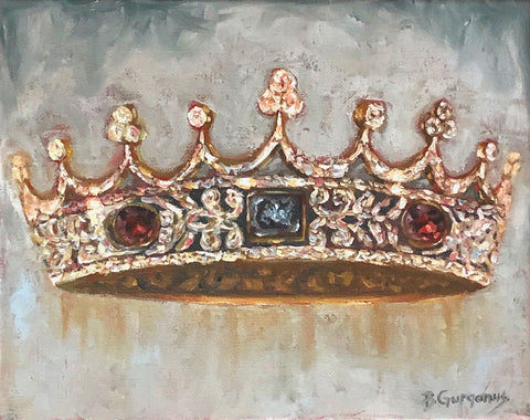 A mother's crown | crown painting by Beverly Gurganus Fine Art