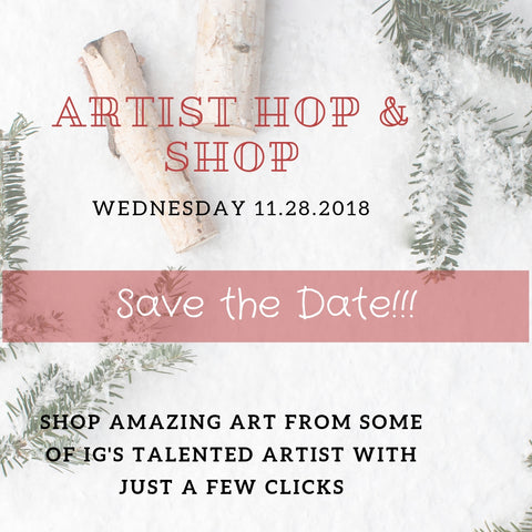 Artists' hop and shop