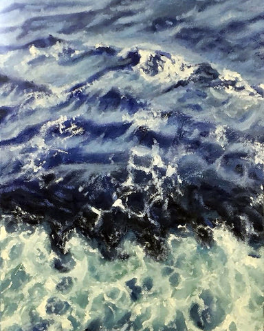 Beauty of the ocean | Free coastal art | Beverly Gurganus