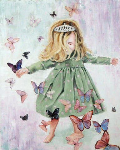 Anastasia Joy | Princess painting | Beverly Gurganus Fine Art