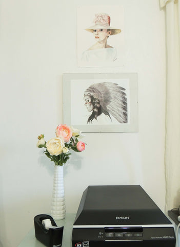 studio refresh | beverly gurganus fine art