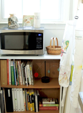 studio refresh | microwave | beverly gurganus fine art