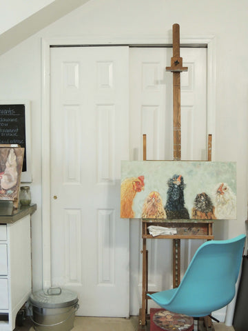 studio refresh | easel | beverly gurganus fine art