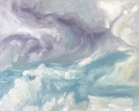 Clouds painting | Beverly Gurganus Fine Art