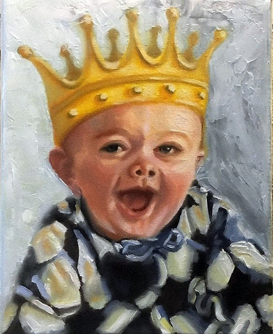 Children of the King oil paintings by Beverly Gurganus