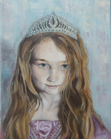Princess Painting | Anti Child Trafficking | Beverly Gurganus Fine Art