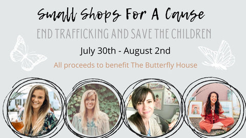 shop for a cause | anti trafficking | Beverly Gurganus Fine Art