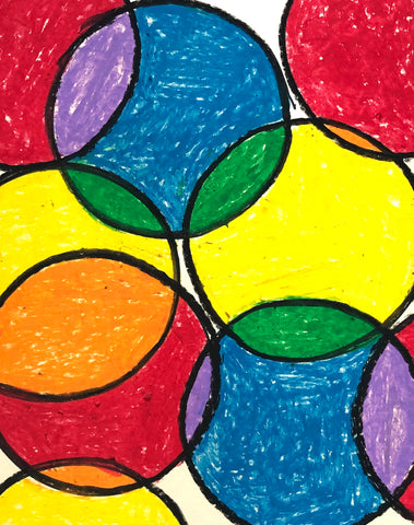 Colorful Abstract Art | Easy lesson for children | Beverly Gurganus Fine Art