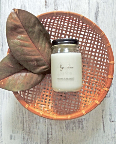 hand poured soy candle | Beverly Gurganus Fine Art + Home