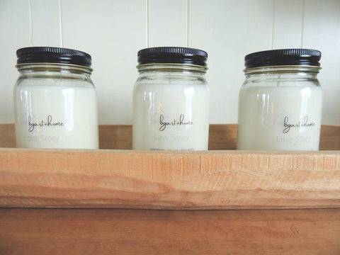 soy candles | Beverly Gurganus Fine Art + Home