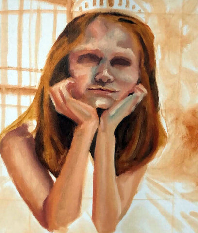 blocking in color stage 2 | oil painting process | Beverly Gurganus Fine Art