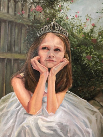 Day Dreamer | Princess Portrait | Beverly Gurganus Fine Art