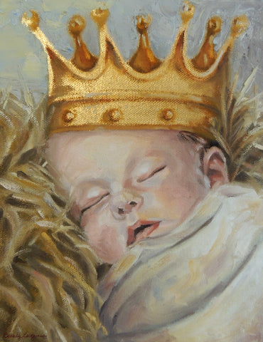 A King is Born | Art Print | Beverly Gurganus Fine Art