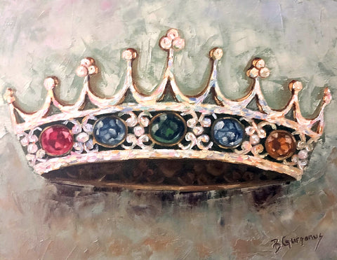 A Mother's Crown I custom birthstone gift for mom I Beverly Gurganus