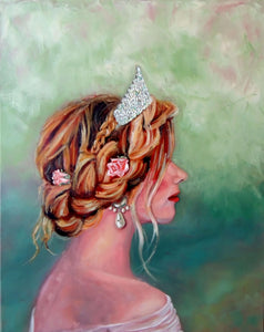 Charity Elise | princess painting by Beverly Gurganus Fine Art