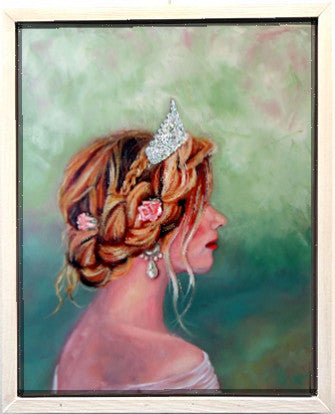 Charity Elise |princess painting by Beverly Gurganus Fine Art