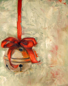 Jingle all the Way | Christmas painting | Beverly Gurganus Fine Art