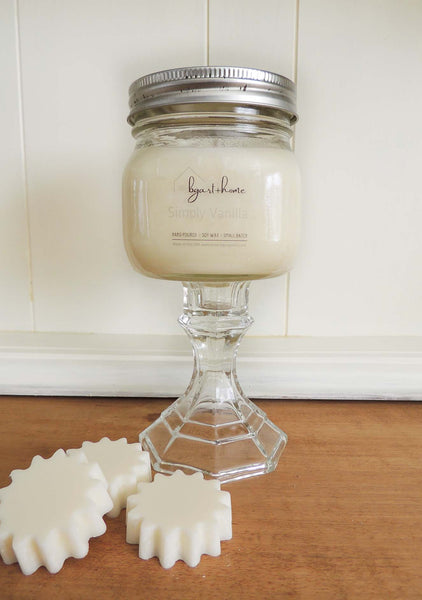 Simply Vanilla | Hand Poured Soy Candles | Beverly Gurganus Fine Art and Home