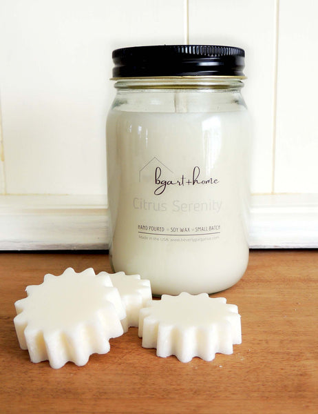 Citrus Serenity | Hand Poured Soy Candles | Beverly Gurganus Fine Art and Home