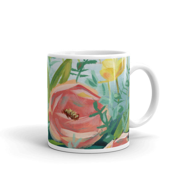 In Full Bloom Mug | Beverly Gurganus Fine Art and Home