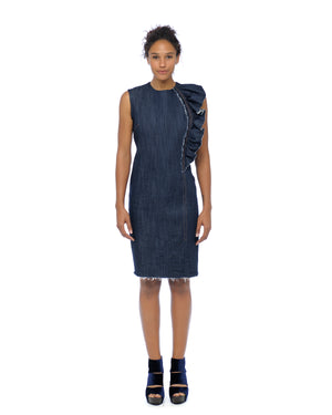 Sally Denim Shift Dress