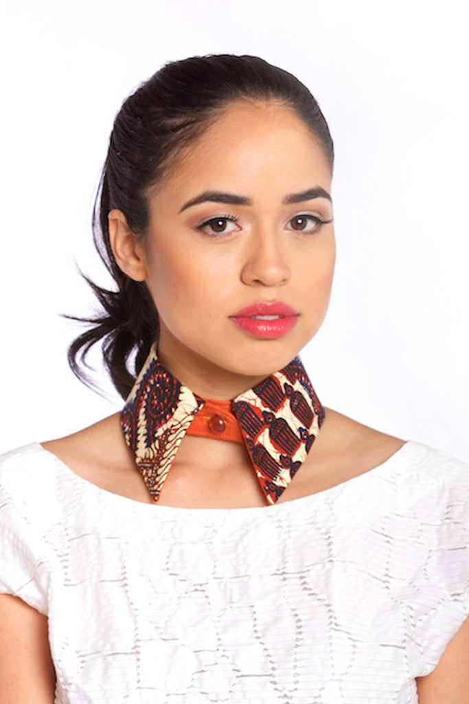 Tribal Print Collar