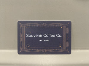Souvenir Gift Cards (ONLINE ONLY)