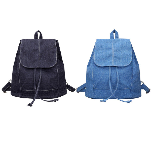 Denim Back Pack