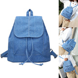 Soft Denim Backpack