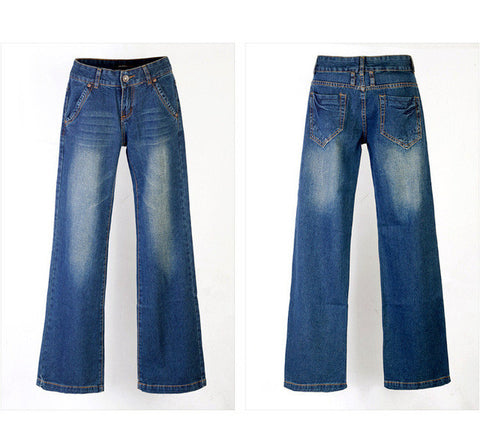 loose long Large bell-bottoms Jeans