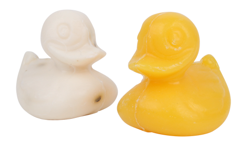 Set of 2 Sheep's Milk Soap Ducklings