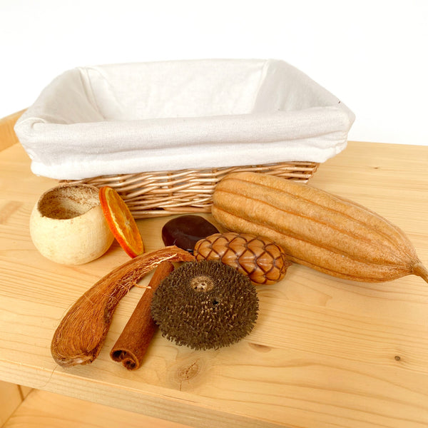 Treasure Basket: Nature (incl. basket)